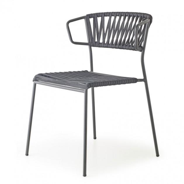 Крісло Lisa Filò 2869 Black Antracite (2869ZAN80) - Lisa 2869 Filò S•CAB