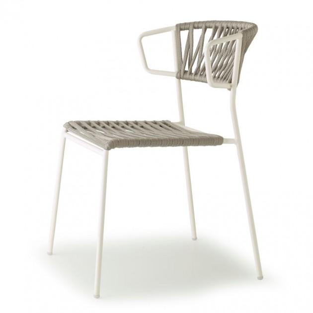 Крісло Lisa Filò 2869 Silver Linen (2869ZLN84) - Lisa 2869 Filò S•CAB