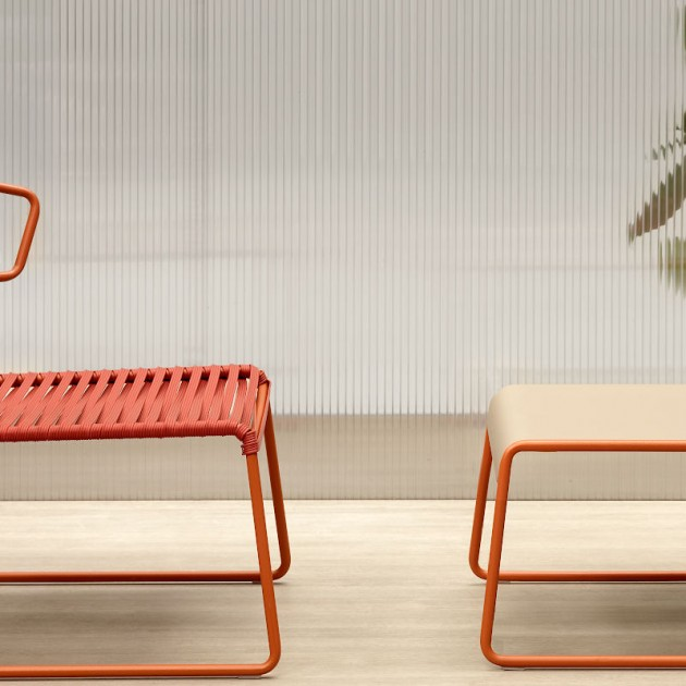Лаунж-крісло Lisa 2877 Lounge Club Terracotta (2877ZEP73) - Крісла Lisa Lounge Club SCAB Design