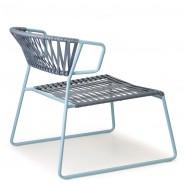 Лаунж-крісло Lisa 2877 Lounge Club Air-Force Blue (2877ZOP86) - Крісла Lisa 2877 Lounge Club SCAB Design