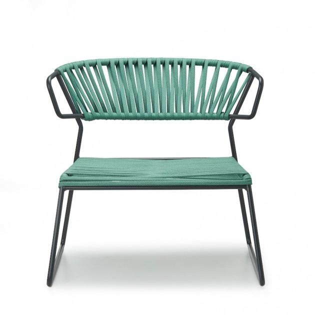 Лаунж-крісло Lisa Lounge Filò 2878 Mint Antracite (2878ZAN57) - Крісла Lisa 2878 Lounge Filò S•CAB
