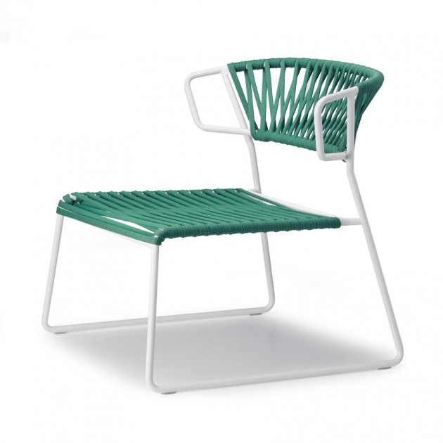 Лаунж-крісло Lisa Lounge Filò 2878 Mint Linen (2878ZLN57) - Крісла Lisa 2878 Lounge Filò S•CAB