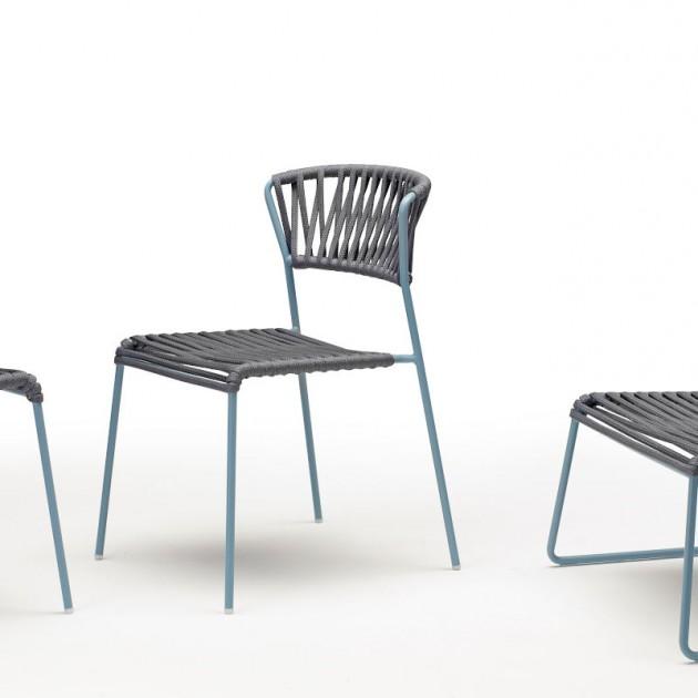 Лаунж-крісло Lisa Lounge Filò 2878 Antracite Light Blue (2878ZON81) - Крісла Lisa 2878 Lounge Filò S•CAB