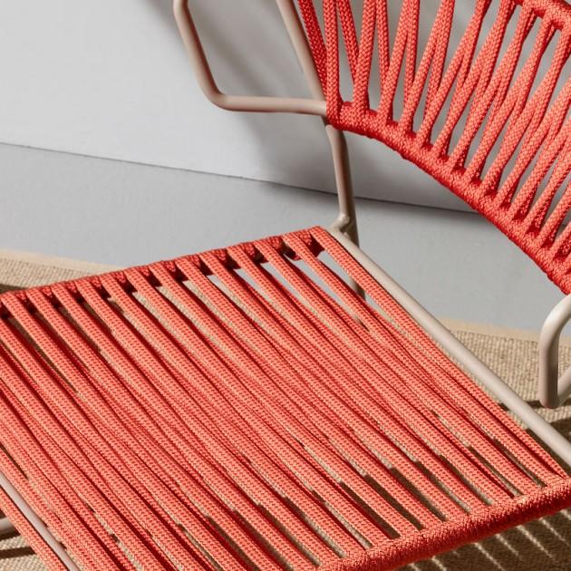 Лаунж-крісло Lisa Lounge Filò 2878 Orange Dove Grey (2878ZTN30) - Крісла Lisa 2878 Lounge Filò S•CAB