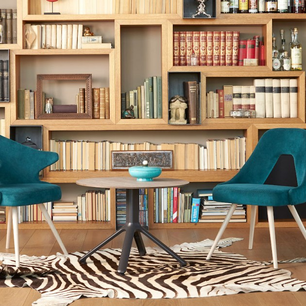 База для столу Nemo Fixed 5067 H50 bianco (5067AV10) - Бази для столів SCAB Design