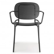 Крісло Si-Si Dots 2504 Antracite (2504ZA) - Крісла Si-Si 2502 SCAB Design