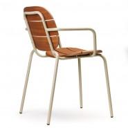 Крісло Si-Si Wood 2509 Dove Grey (2509ZTMS) - Крісла Si-Si Wood 2509 SCAB Design