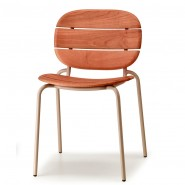 Стілець Si-Si Wood 2510 Dove Grey (2510ZTMS) - Стільці Si-Si Wood 2510 SCAB Design