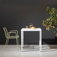 Обідній стіл Summer 2732 Bianco (2732VB) - Столи Summer 2732 80x80 SCAB Design