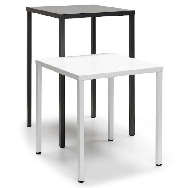Барний стіл Summer 2734 Bianco (2734VB) - Барні столи h110 Summer 2734 70x70 SCAB Design