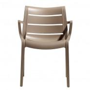 Крісло Sunset 2329 Tortora (232915) - Вуличні крісла для кафе SCAB Design