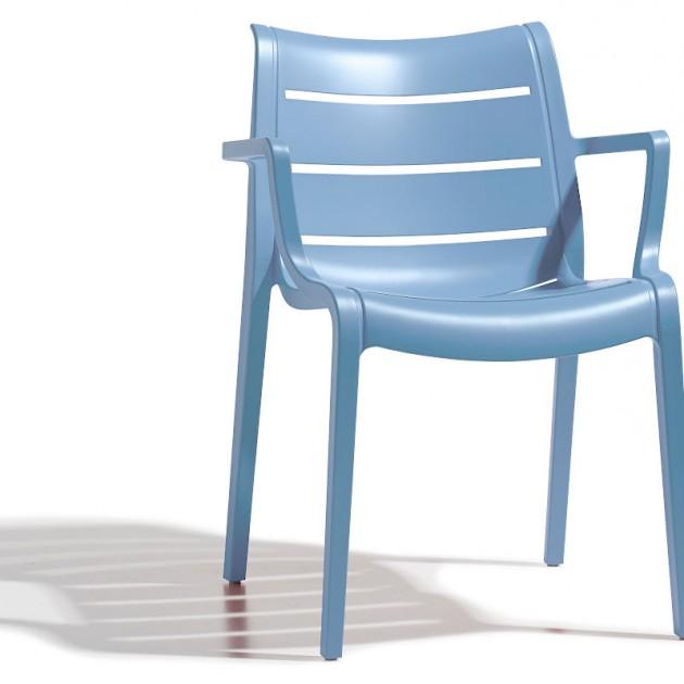 Крісло Sunset 2329 Azzurro (232962) - Вуличні крісла для кафе SCAB Design
