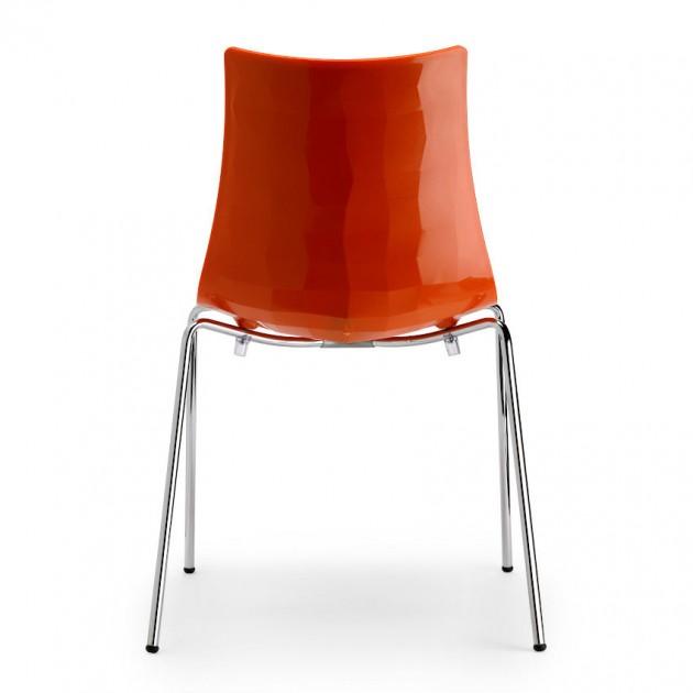 Стілець Zebra 2272 Bicolore Orange (2272211) - Стільці Zebra 2272 Bicolore S•CAB