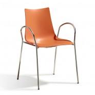 Стілець Zebra 2616 Orange (2616CR30) - Zebra 2616 Technopolymer S•CAB