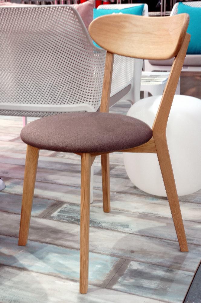 Дерев'яний стілець з м'якою сидушкою Linden