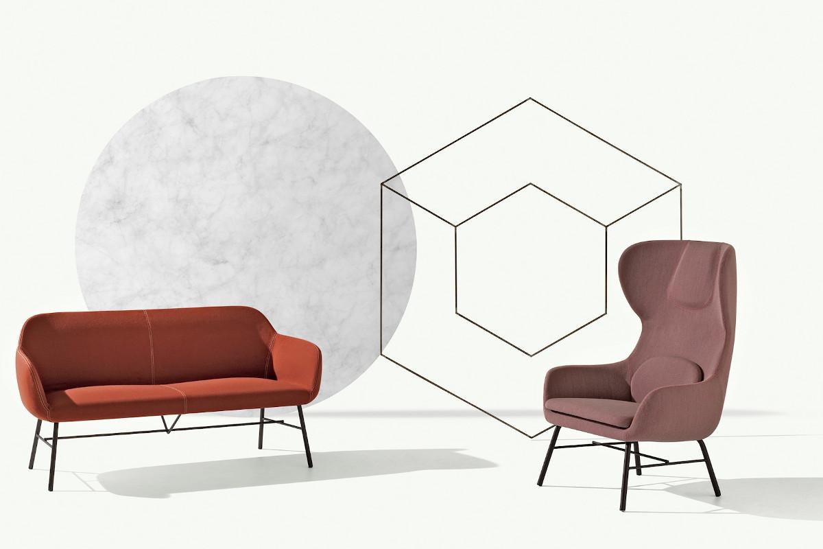 Колекція крісел і диванів Myra від італійського бренду Et al.