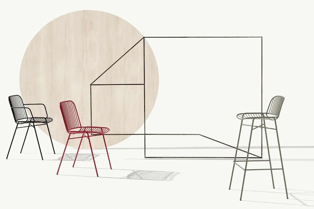 Колекція стільців для HoReCa Shade від італійського бренду Et al.