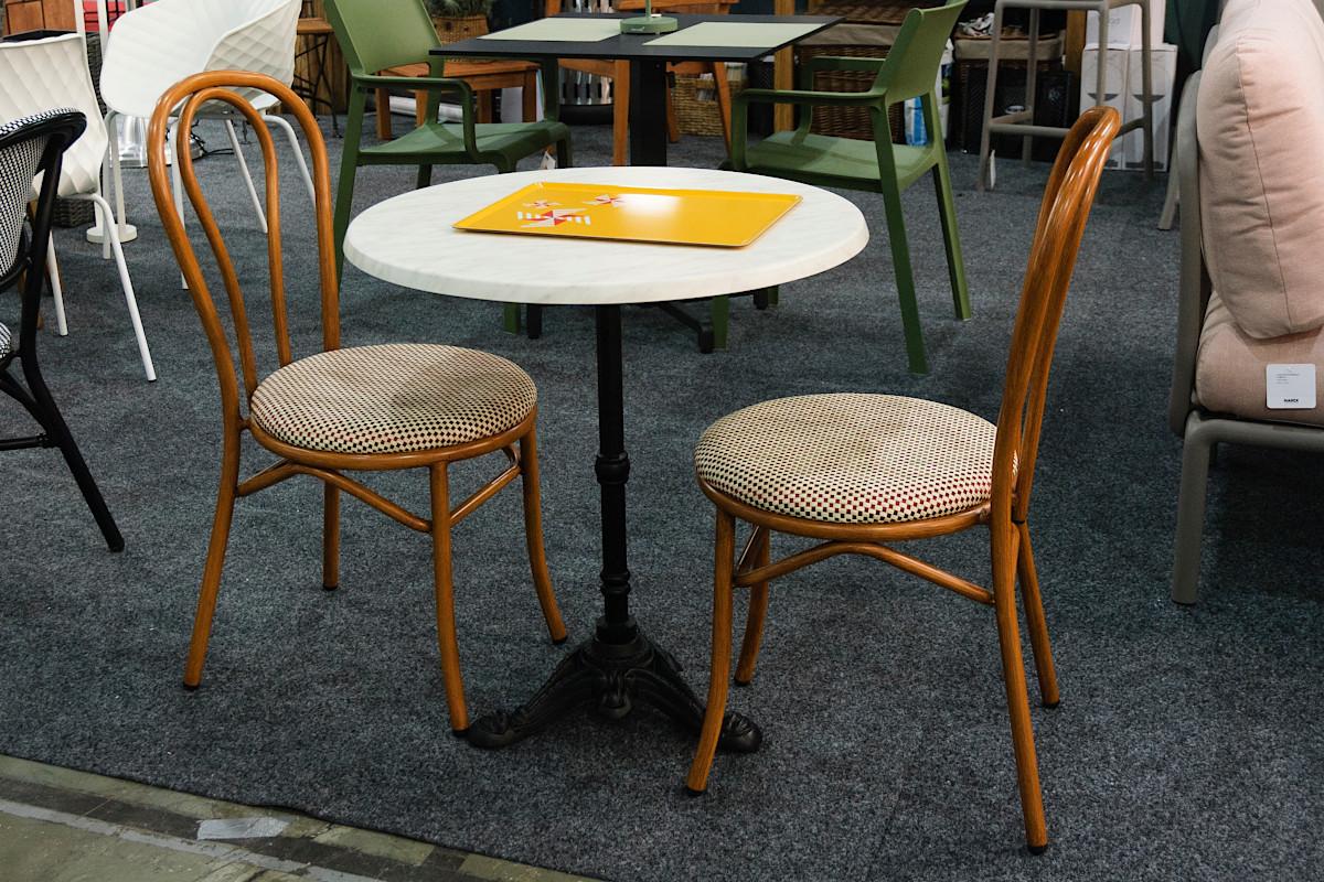 Стільці для кафе і ресторана Tosca від Antiga на FoReCh-2018