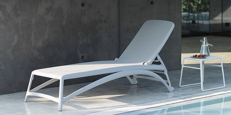 Шезлонг для бассейну Atlantico Bianco