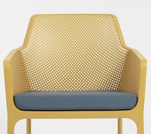 Крісло Net Relax з подушкою для вуличного кафе